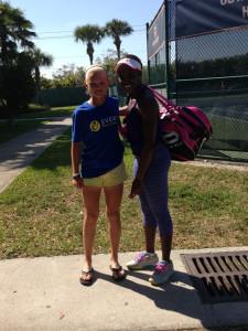 Kristina in Sloan Stevens WTA No. 19